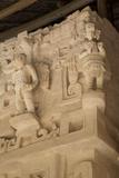 Stucco Sculpture, Tomb of Ukit Kan Lek Tok, Mayan Ruler Photographic Print by Richard Maschmeyer