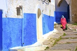 Oudaia Kasbah, Rabat, Morocco, North Africa, Africa Photographic Print by Neil Farrin
