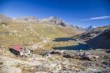 Refuge Citta Di Chivasso. Lakes of Nivolet Photographic Print by Roberto Moiola