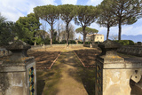 Rose Terrace in Spring, Gardens of Villa Cimbrone, Ravello Photographic Print by Eleanor Scriven