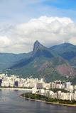 Aerial View of Botafogo Bay, Corcovadao and the Christ Statue, Rio De Janeiro, Brazil Photographic Print by Alex Robinson