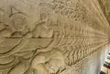 Bas-Relief Carvings from the Churning of the Sea of Milk Myth Photographic Print by Michael Nolan