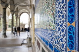 Interior of Topkapi Palace, Sultanahmet, Istanbul, Turkey Photographic Print by Ben Pipe