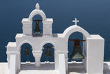 Church Bells, Oia, Santorini, Cyclades, Greek Islands, Greece Photographic Print by Rolf Richardson