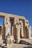 Hypostyle Hall, the Ramesseum (Mortuary Temple of Ramese Ii), Luxor Photographic Print by Richard Maschmeyer