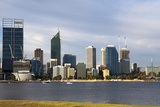 Perth City Skyline from South Perth Shore, Western Australia, Australia, Pacific Photographic Print by Lynn Gail