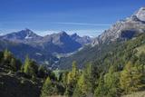 Graubunden, Swiss Alps, Switzerland, Europe Fotografisk tryk af Angelo Cavalli