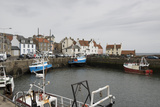 Pittenweem Harbour, Fife Coast, Scotland, United Kingdom Photographic Print by Nick Servian