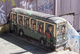Wonderful Graffiti, Valparaiso, Chile Photographic Print by Peter Groenendijk