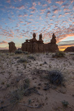 The Three Judges at Sunrise, Goblin Valley State Park, Utah Photographic Print by James Hager