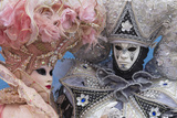 Masks and Costumes, Carnival, Venice, Veneto, Italy, Europe Photographic Print by Jean Brooks