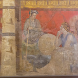Fresco, from Boscoreale Villa, Pompeii Photographic Print by Eleanor Scriven