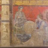 Fresco, from Boscoreale Villa, Pompeii Photographic Print by Eleanor Scriven
