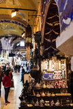 Interior of Grand Bazaar (Kapali Carsi), Istanbul, Turkey Photographic Print by Ben Pipe