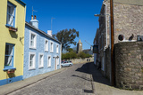 Old Houses in St. Anne, Alderney, Channel Islands, United Kingdom Photographic Print by Michael Runkel