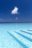 Infinity Pool in the Maldives, Indian Ocean Photographic Print by Sakis Papadopoulos