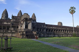 Buildings on the Eastern Side of Angkor Wat Photographic Print by Lynn Gail