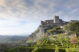 The 13th Century Medieval Castle and Gardens in Marvao Photographic Print by Alex Robinson