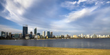 Perth City Skyline from South Perth Shore, Perth, Western Australia, Australia, Pacific Photographic Print by Lynn Gail