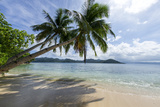 Tropical Island Beach at Matangi Island Resort, Vanua Levu, Fiji, Pacific Photographic Print by Louise Murray