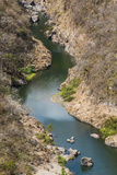 Boat Navigable Part of the Coco River before it Narrows into the Somoto Canyon National Monument Photographic Print by Rob Francis