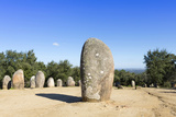 The Almendres Stone Circle, One of the Oldest Cromlechs in Europe Photographic Print by Alex Robinson