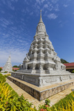 Stupa in the Royal Palace, in the Capital City of Phnom Penh, Cambodia, Indochina Photographic Print by Michael Nolan
