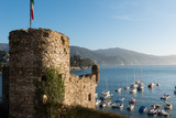 The 16th Century Castle, Santa Margherita Ligure, Genova (Genoa), Liguria, Italy, Europe Photographic Print by Carlo Morucchio