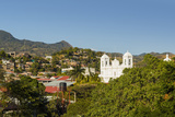 San Pedro Cathedral, Built 1874 on Parque Morazan in This Important Northern Commercial City Photographic Print by Rob Francis