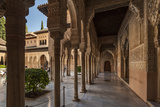 Court of the Lions, Alhambra, Granada, Province of Granada, Andalusia, Spain Photographic Print by Michael Snell