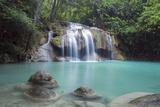 Erawan Falls, Kanchanaburi, Thailand, Southeast Asia, Asia Photographic Print by Alex Robinson