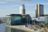 Mediacityuk, the BBC Headquarters on the Banks of the Manchester Ship Canal in Salford and Trafford Photographic Print by Alex Robinson