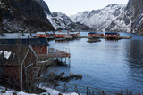 Nusfjord, Lofoten Islands, Arctic, Norway, Scandinavia Photographic Print by Sergio Pitamitz