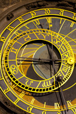Astronomical Clock on the Town Hall, Old Town Square, Prague, Czech Republic, Euruope Photographic Print by Miles Ertman
