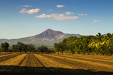 Fields North of Leon and Volcan Telica Photographic Print by Rob Francis