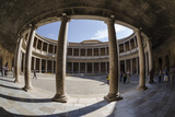 Palace of Charles V, Alhambra, Granada, Province of Granada, Andalusia, Spain Photographic Print by Michael Snell