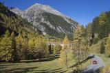 Road to Albula Pass, Graubunden, Swiss Alps, Switzerland, Europe Photographic Print by Angelo Cavalli