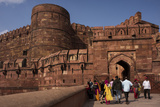 Exterior of Agra Fort, UNESCO World Heritage Site, Agra, Uttar Pradesh, India, Asia Photographic Print by Ben Pipe