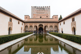 Patio De Arrayanes, Palacios Nazaries, the Alhambra, Granada, Andalucia, Spain Photographic Print by Carlo Morucchio