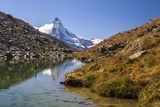 The Matterhorn at Dawn Seen from Stellisee Photographic Print by Roberto Moiola