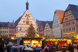 Christmas Market, Rothenburg Ob Der Tauber, Bavaria, Germany, Europe Photographic Print by Miles Ertman
