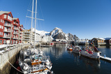 Svolvaer, Lofoten Islands, Nordland, Arctic, Norway, Scandinavia Photographic Print by Sergio Pitamitz