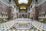 Interior of the Neo-Classical Walhalla Hall of Fame on the Danube. Bavaria, Germany Photographic Print by Michael Runkel