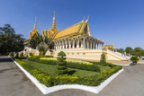 Throne Hall, Royal Palace, in the Capital City of Phnom Penh, Cambodia, Indochina Photographic Print by Michael Nolan
