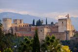 The Alhambra, Granada, Andalucia, Spain Fotodruck von Carlo Morucchio