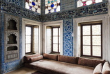 Interior of Baghdad Kiosk, Topkapi Palace, Sultanahmet, Istanbul, Turkey Photographic Print by Ben Pipe