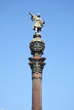 Christopher Colombus Monument, Barcelona, Spain Photographic Print by Mark Mawson
