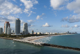 South Beach, Miami Beach, Florida, United States of America, North America Photographic Print by Sergio Pitamitz