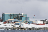 The United States Antarctic Research Base at Palmer Station, Antarctica, Polar Regions Photographic Print by Michael Nolan
