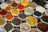 Spice Stall at Mapusa Market, Goa, India, Asia Photographic Print by Yadid Levy